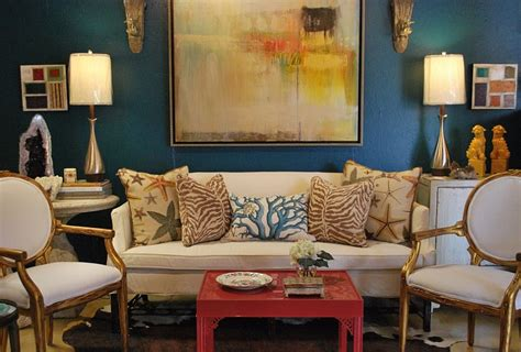 Brown And Aqua Living Room Ideas by 27 Eclectic Living Room Designs Decorating Ideas