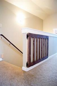 Custom Baby Gates For Stairs - WoodWorking Projects & Plans