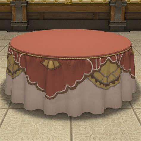 table de banquet ronde ffxiv logement table