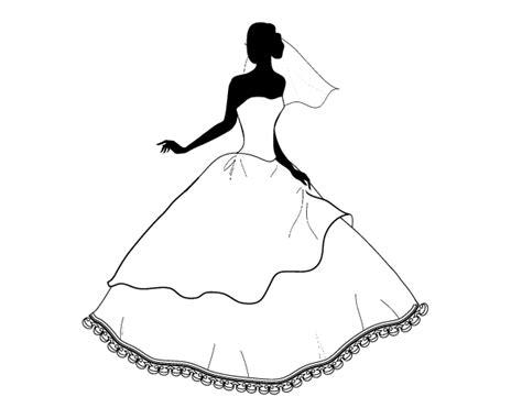 Aquí podrás encontrar siempre el vestido perfecto para tu ocasión, aunque sea para un día de barbacoa o para una fiesta. Wedding dress coloring page - Coloringcrew.com