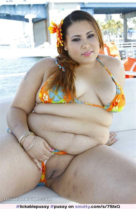 Pussy Shaved Fat Chubby Latina Bikini Outdoors Showingpussy Lickablepussy