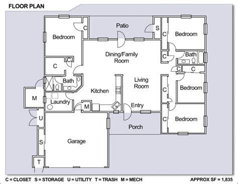 family home floor plans nb guam apra view neighborhood 4 bedroom single family
