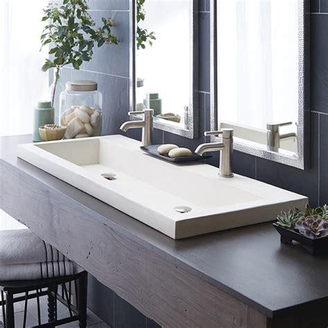 white master bathroom ideas trough 4819 basin nativestone bathroom sink
