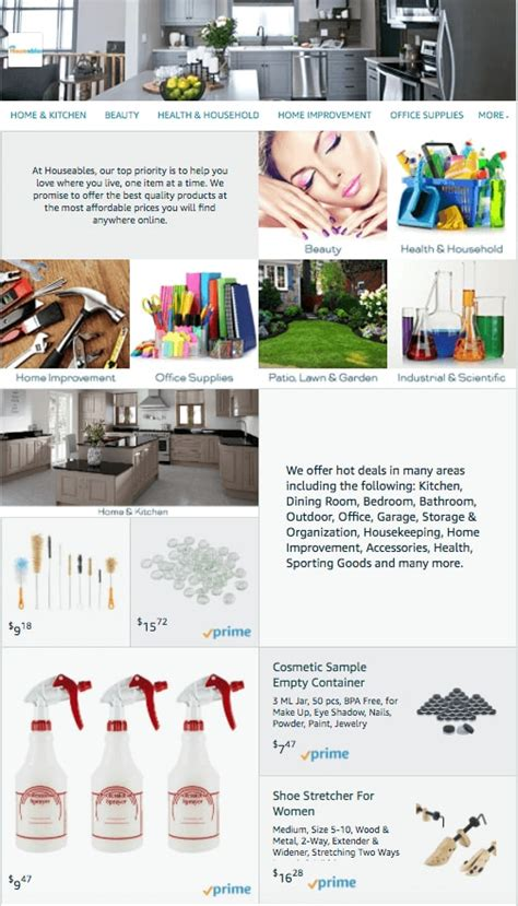 amazon storefront design amazon store design templates