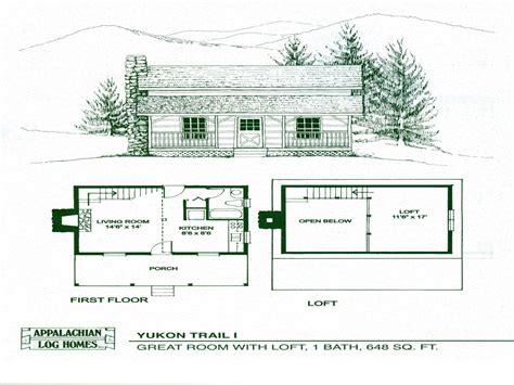 small cabin floor plans  loft small guest house floor