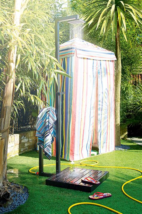 Splash Out On An Outdoor Shower  Ideal Home