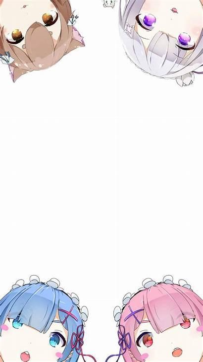 Zero Re Anime Wallpapers Phone Chibi Kawaii