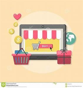 Design Online Shop : flat design concept with icons of online shop ideas symbol ~ Watch28wear.com Haus und Dekorationen