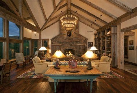 Home Interior Western Pictures : Western Pioneer Ranch Style Home