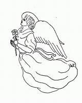 Angel Coloring Angeles Printable Colorear Imprimir Wings Angels Ausmalbilder Adults Schutzengel Engel Pintar Dibujos Kleurplaat Konabeun Malvorlagen Engelen Kleurplaten Clipart sketch template