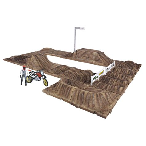 monster truck race track toy jakks pacific mxs race track playset