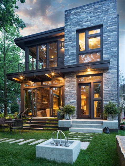 Best Small Exterior Home Design Ideas & Remodel Pictures