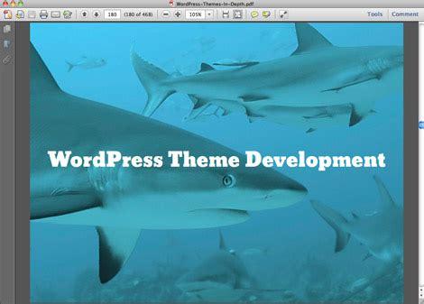 wordpress themes  depth perishable press