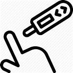 Icon Glucose Blood Diabetes Glucometer Health Test