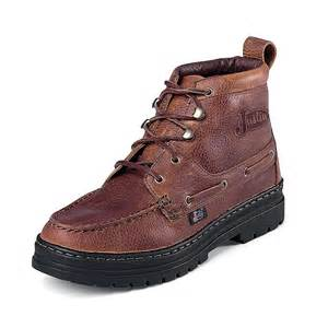 womens work boots justin rustic cowhide chukka womens work boots d d outfitters