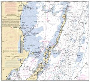 Map of Marathon Florida Nautical Chart