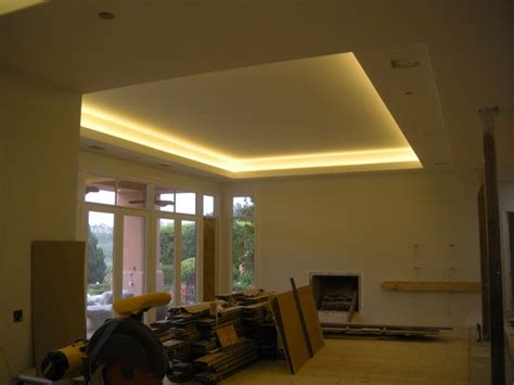 led lights for living room home remodel with coved ceiling