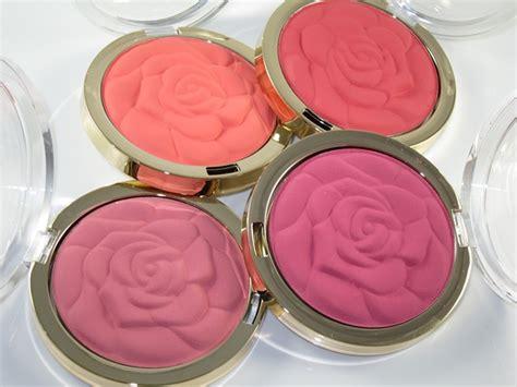 milani rose powder blush swatches musings muse