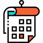 Weekly Icon Calendar Icons Flaticon Svg Lineal