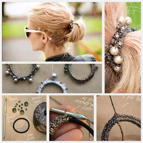beautiful diy hair accessories