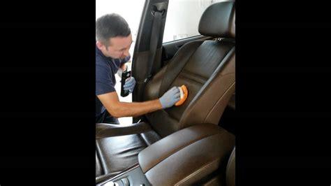 Pulizia Interni In Pelle - pulizia e trattamento dei sedili in pelle by spruzzino car