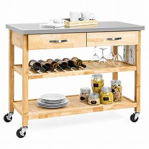 Top, 10, Best, Rolling, Kitchen, Carts, In, 2021, -, Reviews