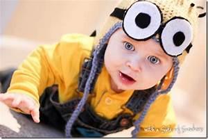 Minion Kostüm Baby : baby s 1st halloween ~ Frokenaadalensverden.com Haus und Dekorationen