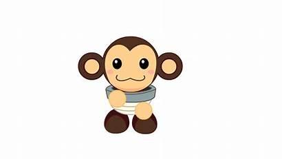 Dancing Animated Dance Animals Monkey Happy Anime