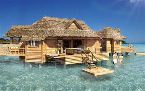 Over The Water Bungalow Soon To Be Built Off The Private