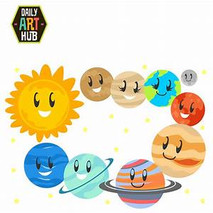 0 images about planets on solar system the clip art ...