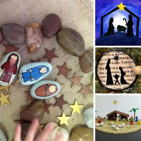 tot school ideas nativity crafts and activities for 883 | Nativity Crafts for Preschoolers FB Square