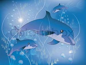 Schöne Delfin Bilder : sch ne delfine vektorgrafik colourbox ~ Frokenaadalensverden.com Haus und Dekorationen