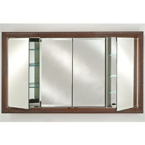 afina signature collection medicine cabinet four door 58 x 30 signature collection medicine cabinets