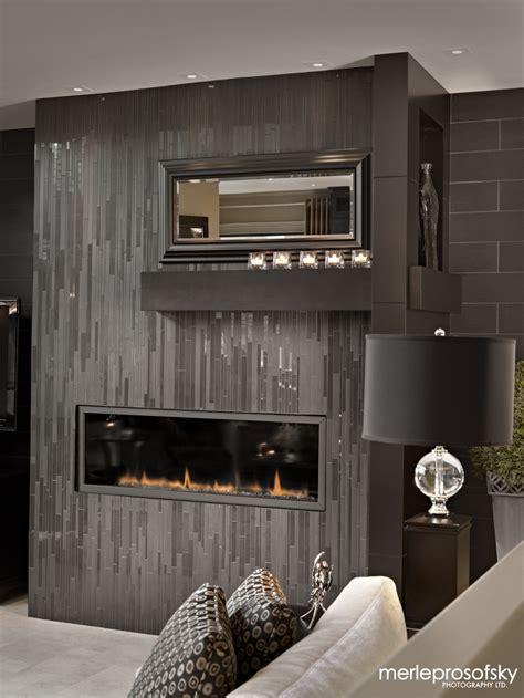 gorgeous glass tile vertical  symmetrical shelving