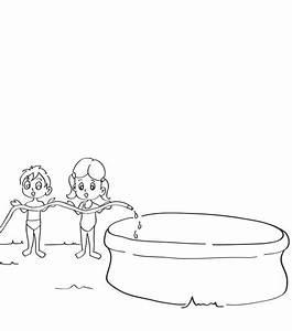 Dessin De Piscine : piscine gonflable dessin ~ Melissatoandfro.com Idées de Décoration