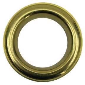 decorative metal grommets 1 57 quot id brass