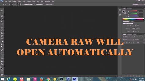 install camera raw filter  adobe photoshop cs