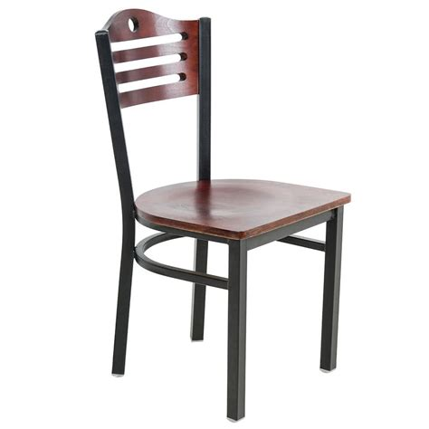 mahogany dining chairs for lancaster table seating mahogany finish bistro dining chair 9106