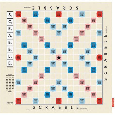 Scrabble Board Template