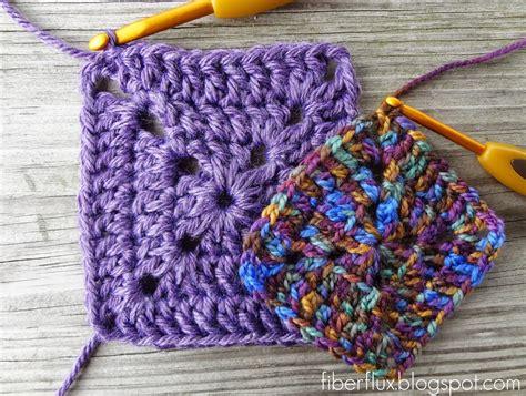 how to crochet a square fiber flux crochet tutorials