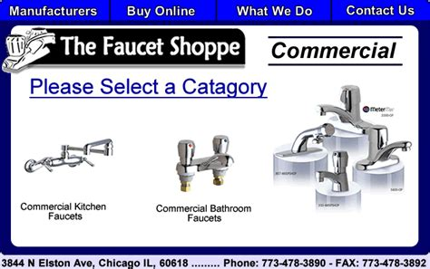 Faucet Shoppe by The Faucet Shoppe Manufacurers We Carry