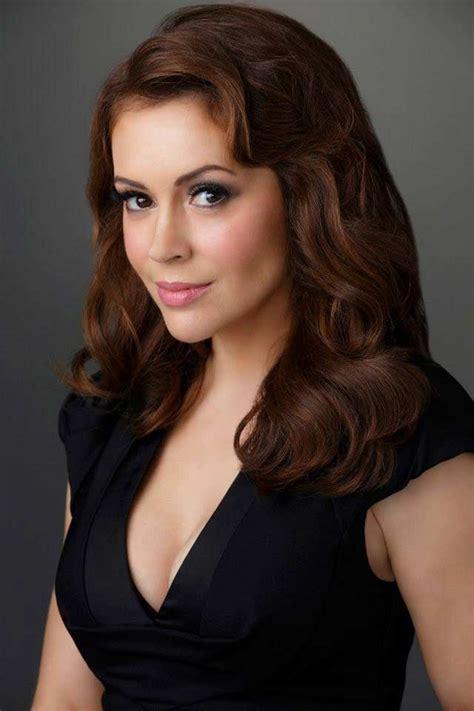 Alyssa Milano Hair Color - Hair Colar And Cut Style