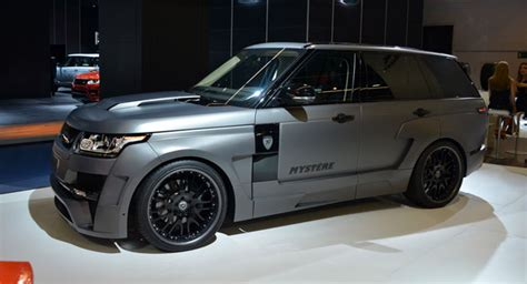 Hamann's Range Rover Mystere And Evoque From The 2013 Iaa