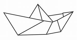 U0026 39 Origami Boat U0026 39  Sticker By Dansam In 2020