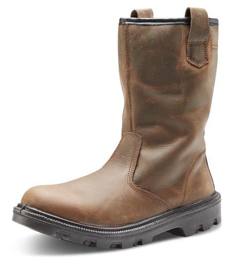 srb sherpa dual density polyurethane rubber rigger boot