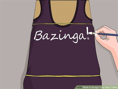 design    shirt  pictures wikihow