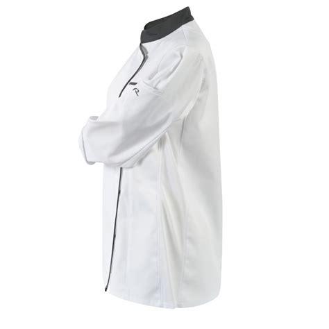 blouse de cuisine blouse de cuisine pour femme blanche grise robur lisavet