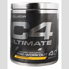 Buy Cellucor  C4 Ultimate Id Series Preworkout 40 Servings Orange Mango  760 Grams At