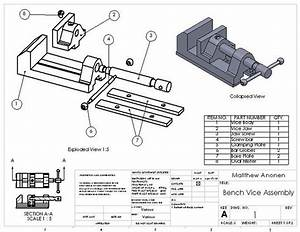 Woodwork bench vise drawings with dimensions Plans PDF