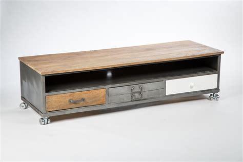 meuble haut bureau meuble tele metal